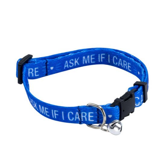 About Face Ask Me Cat Collar