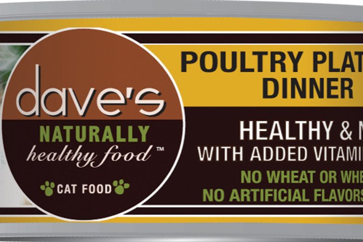 Dave's Cat Poultry Platter 5.5oz