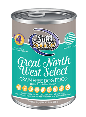 NutriSource K9 GF Great NW Select 13oz