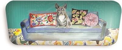 Punch Eye Glass Case Frenchie