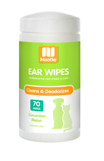 Nootie Ear Wipes Cucumber Melon 70ct