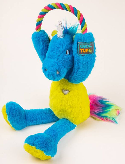 CudlTuf Plush Magic Unicorn Dog Toy