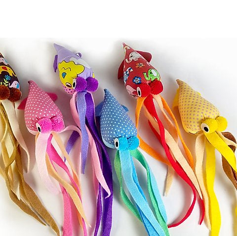 Goli Tenngo Squid Catnip Toy