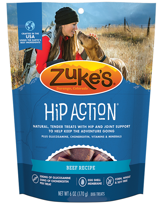 Zukes Hip Action Beef 6z