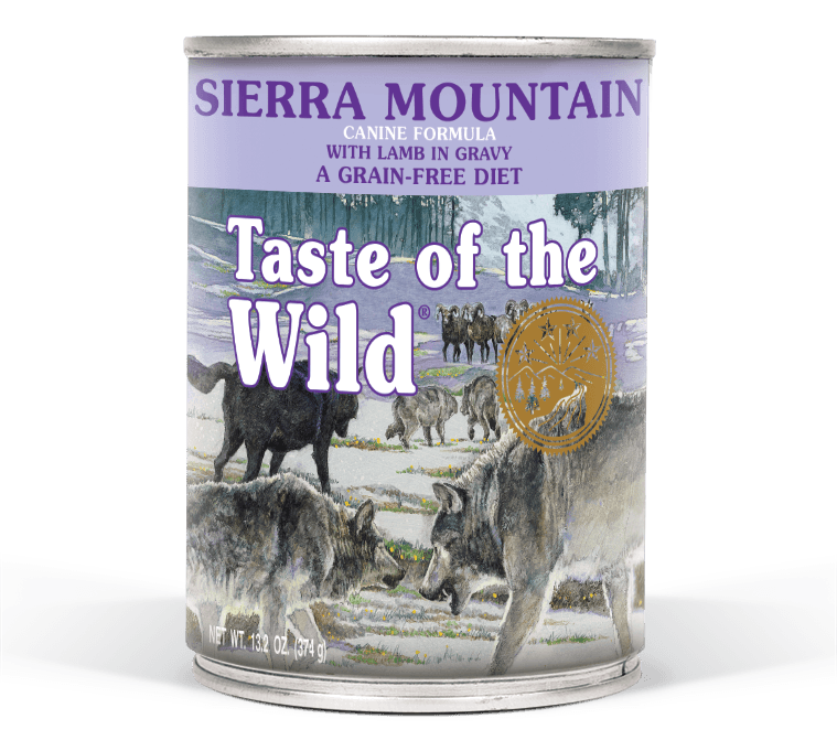 Taste of the Wild GF Sierra MTN Dog 13.2z