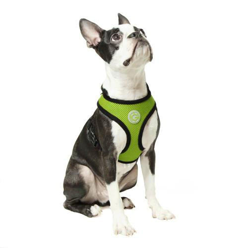 Gooby Soft Mesh Harness Lime *DI*