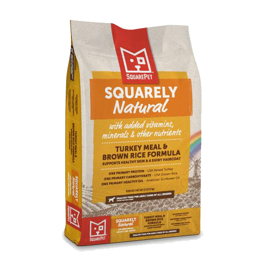 Square Pet Squarely Natural K9 Turkey and Rice