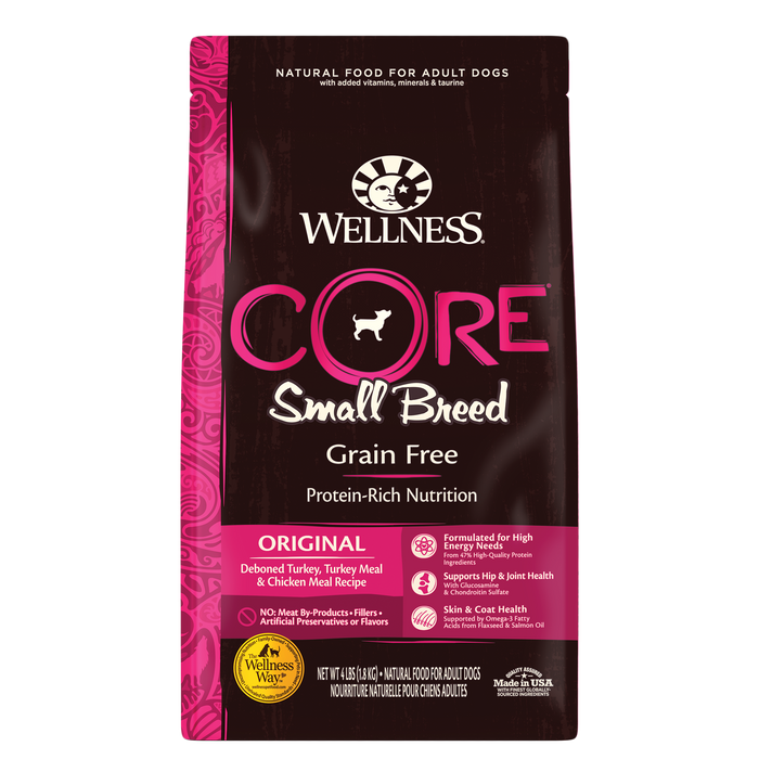 Wellness CORE Small Breed Dog *SO*