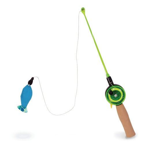 OurPets Fishing Rod w/ Fish