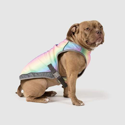 Canada Pooch Cooling Vest Rainbow