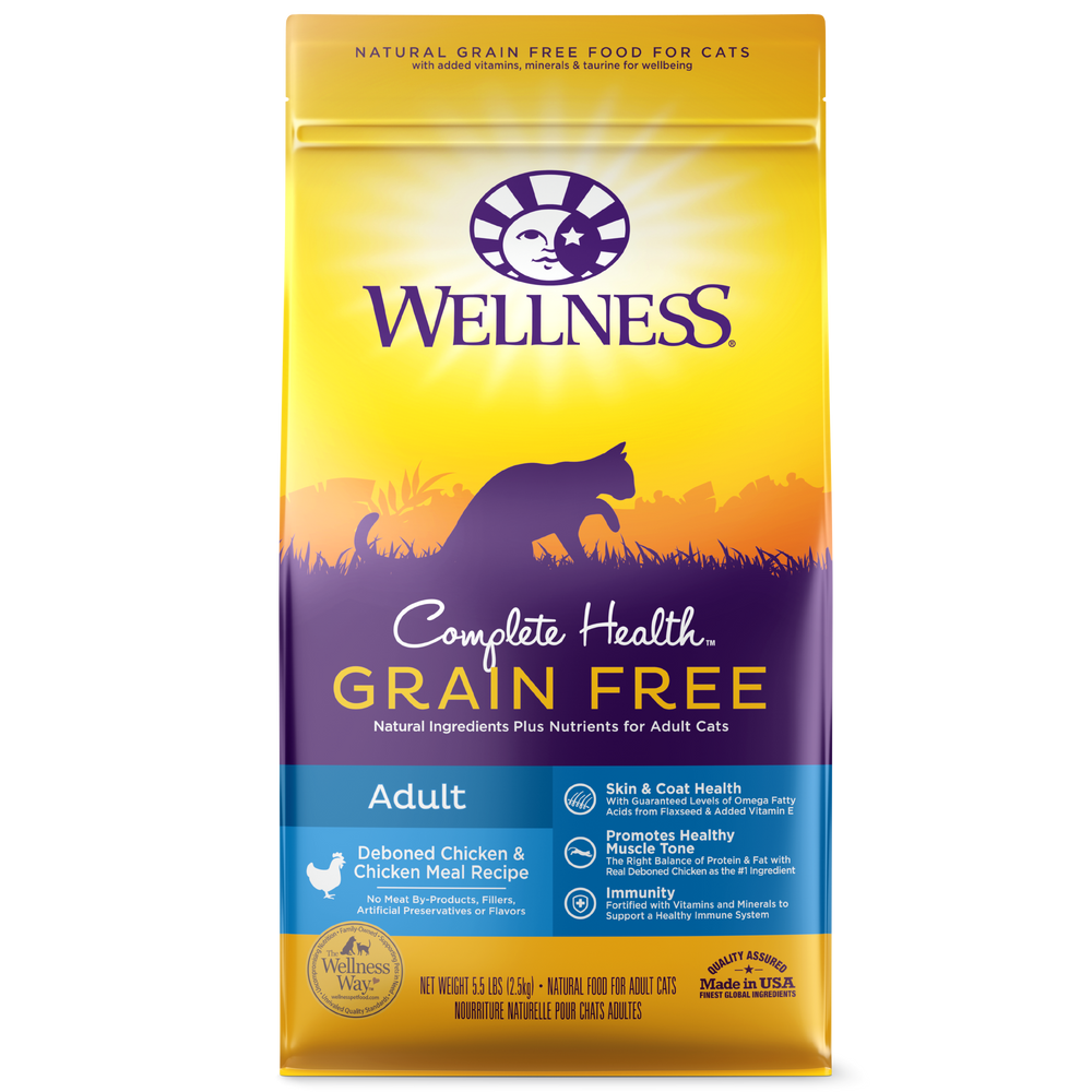 Wellness Complete Health Cat Chicken GF 5.5lb