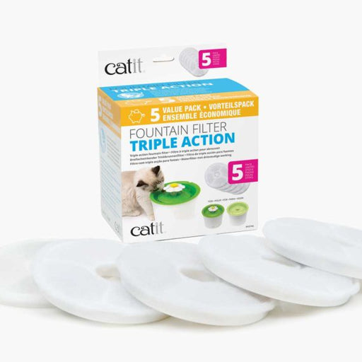 Catit 2.0 Triple Action Water Softener 5pk
