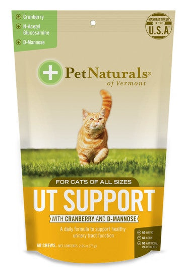 Pet Naturals Vermont Cat UT Support 60ct