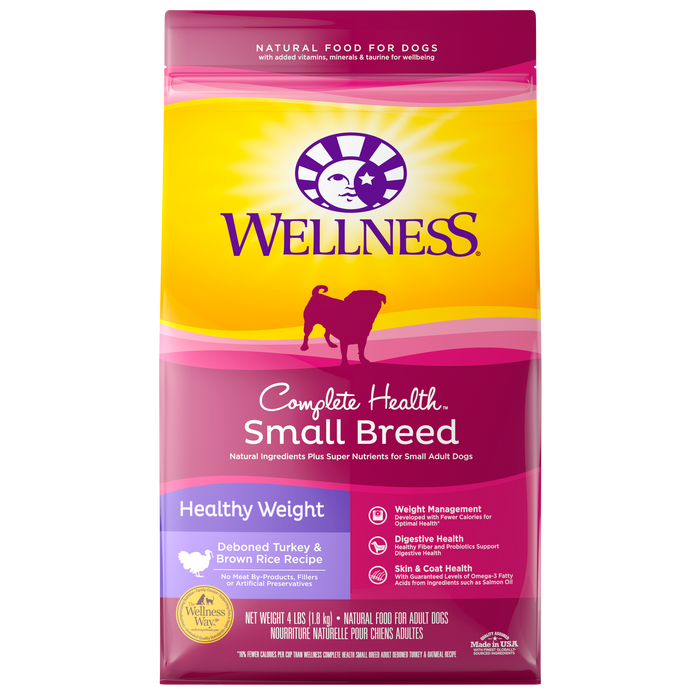 Wellness Complete Health Small Breed Healthy Wt *DI*