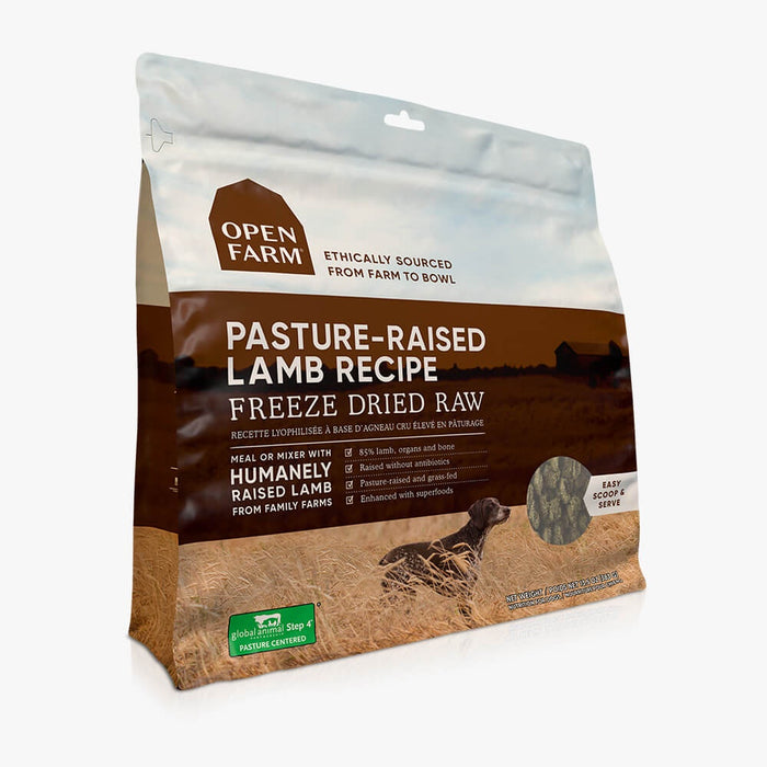 Open Farm Dog Freeze Dried Pasture Lamb 13.5oz