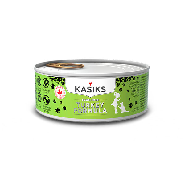 Kasiks Cage Free Turkey Cat 5.5z