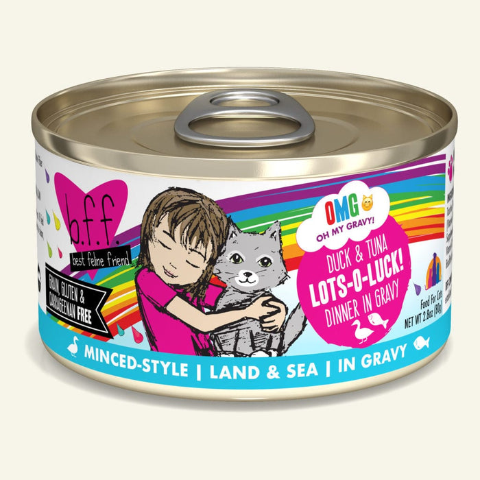 Weruva BFF OMG! Lots 'O Luck Duck Tuna 2.8oz