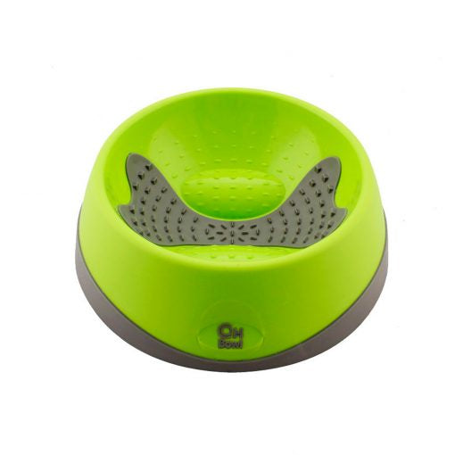 Hyper Pet Pet Oral Health Bowl Green