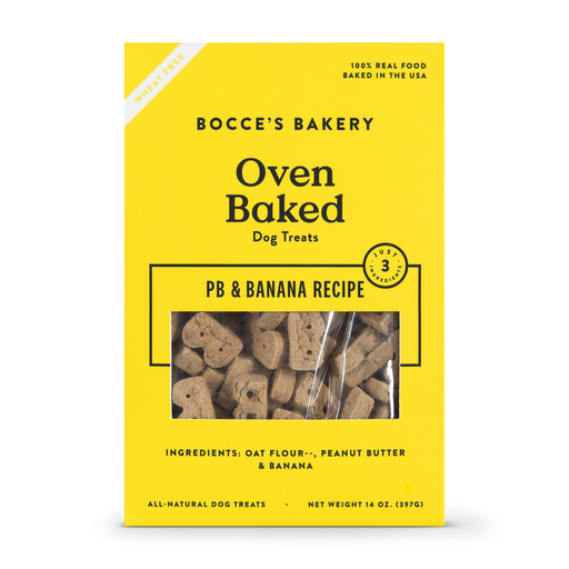 Bocces PB Banana Treats 14oz
