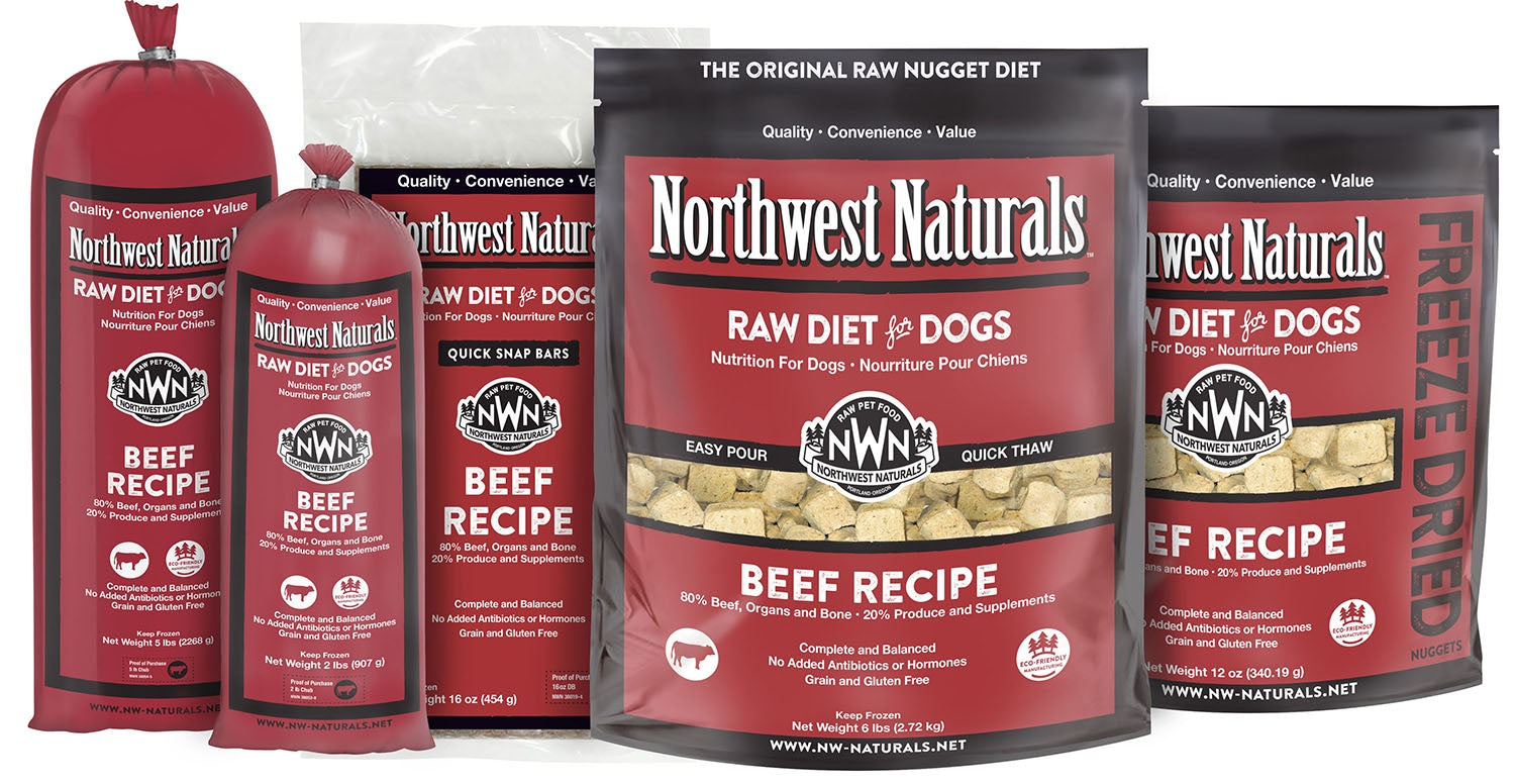 Northwest Naturals Dog Freeze Dried Nuggets Beef 12oz
