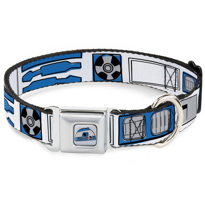 Buckle Down Dog Collar R2-D2 Multi