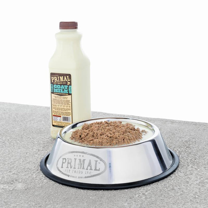 Primal Frozen Raw Goats Milk 16oz