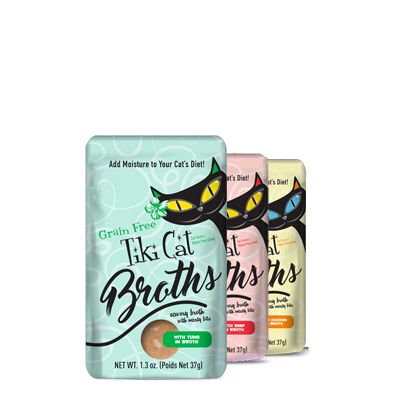Tiki Cat Broth Pouch Variety Pack 1.3oz