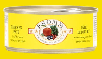 Fromm 4Star Cat Cans Chicken Pate 5.5oz