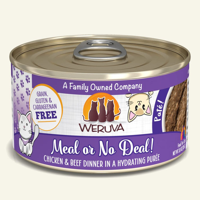 Weruva GF Cat Pate Meal Or No Deal 5.5oz