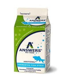 Answers Pet Food Fermented Fish Stock