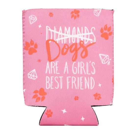 About Face Diamonds Koozie