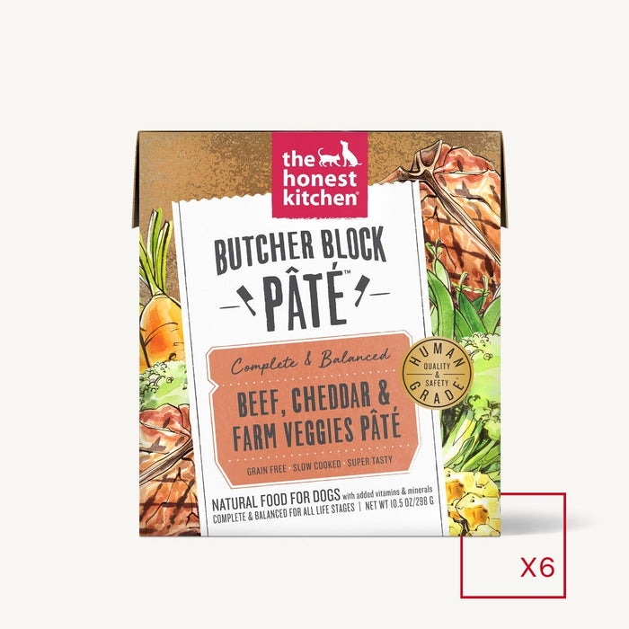 Honest Kitchen Butcher Block Beef Cheddar 10.5oz