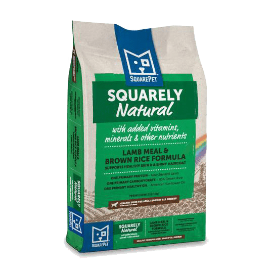 Square Pet Squarely Natural K9 Lamb and Rice