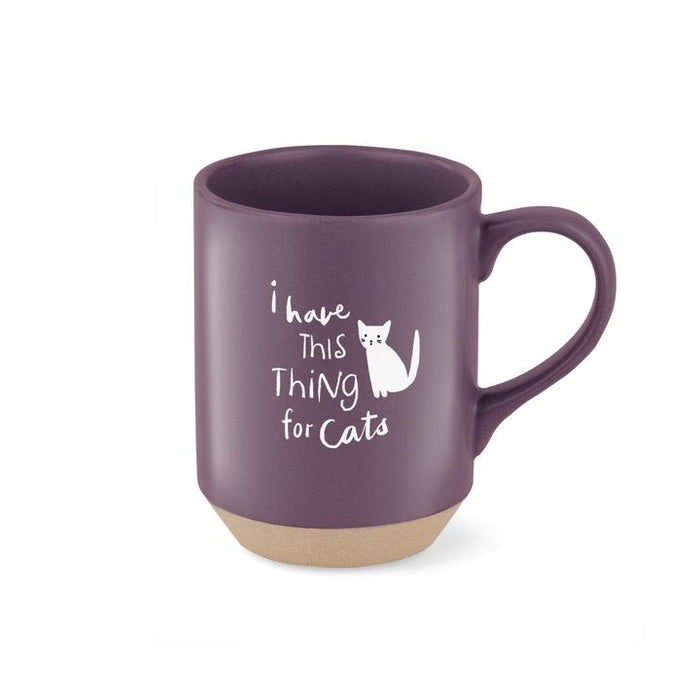 Fringe Thing For Cats Stoneware Mug