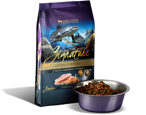 Zignature Catfish Formula Dog