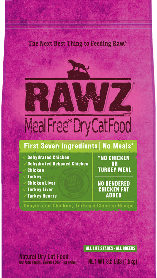 Rawz Cat Dry Chicken & Turkey