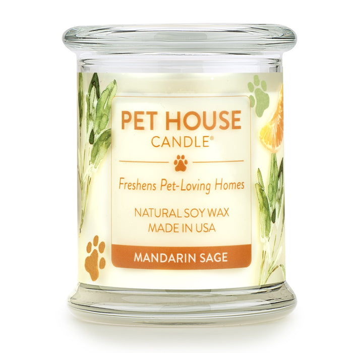 Pet House Candles Mandarin Sage