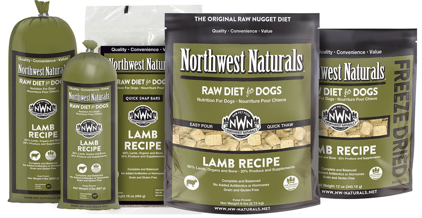 Northwest Naturals Dog Freeze Dried Nuggets Lamb 12oz