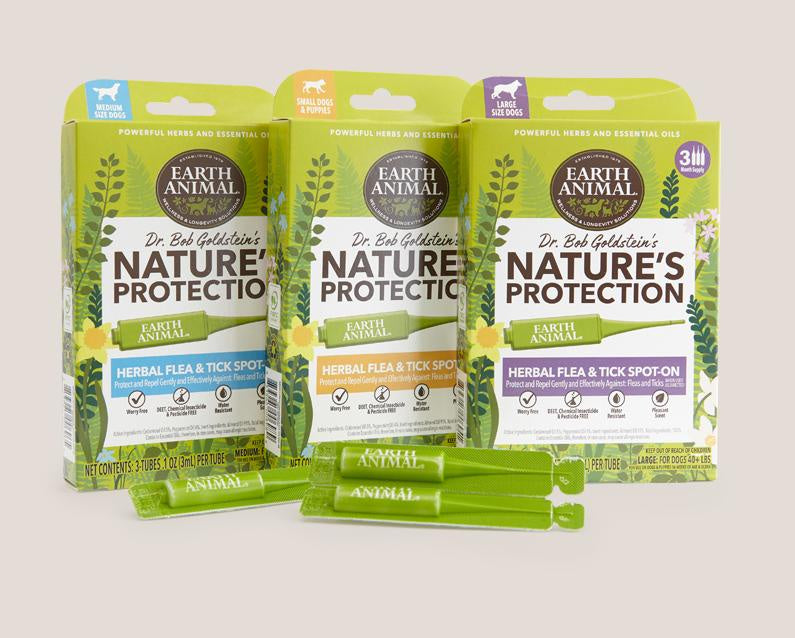 Earth Animal Dog Flea And Tick Nature's Protection Spot
