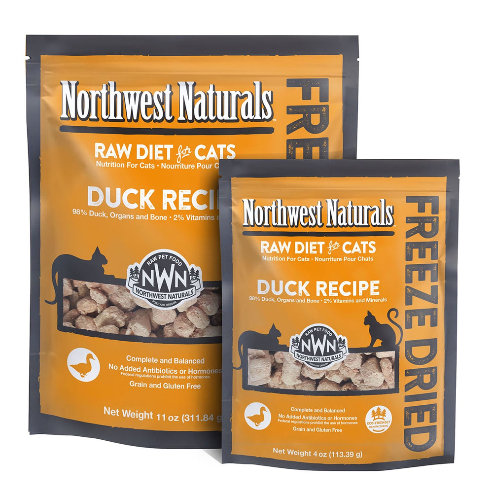 Northwest Naturals Cat Freeze Dried Nibbles Duck