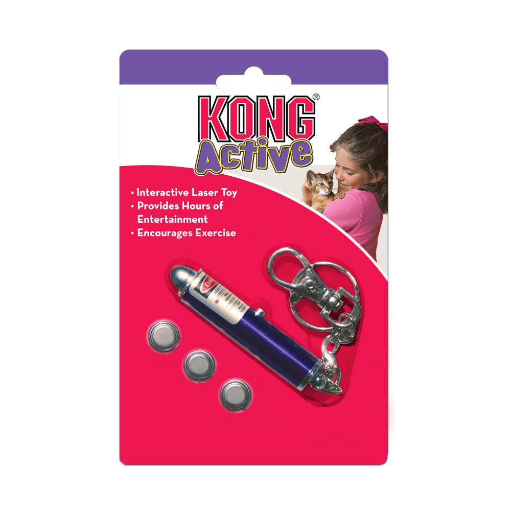 Kong Cat Laser Toy Blue