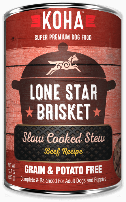 KOHA Dog GF Stew Lone Star 12.7oz