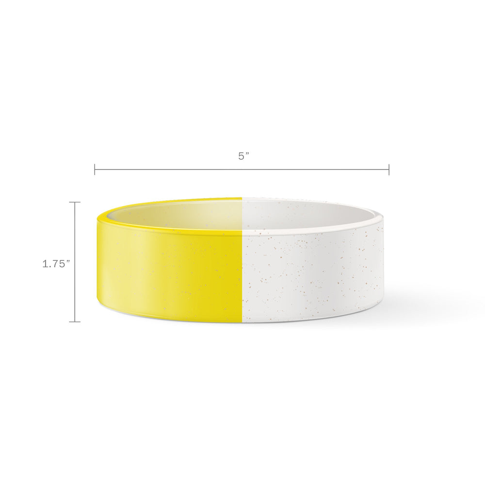 Fringe Yellow Dip Hello Small Glazed Bowl