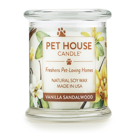 Pet House Candles Vanilla Sandlewood