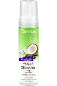 Tropiclean Waterless Face Cleanser 8z