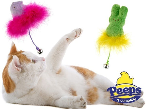 Peeps Bunny/Chick Feather Toy