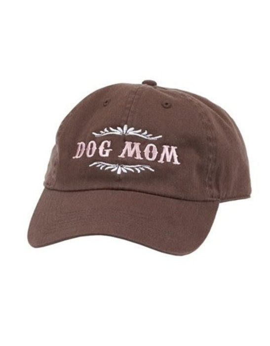 Spoiled Rotten Dogz Hat Dog Mom Brown