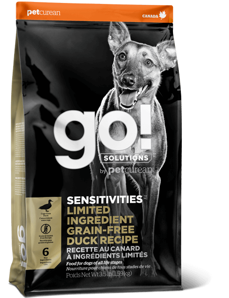 Go! Dog Sensitivities GF LID Duck