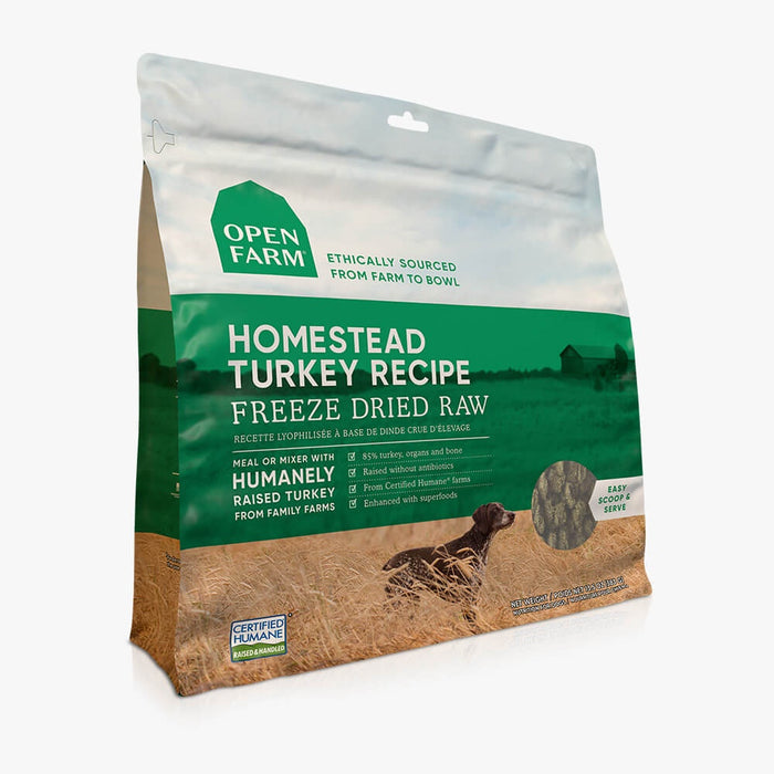 Open Farm Dog Freeze Dried Homestead Turkey 13.5oz