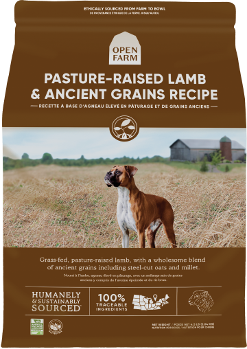 Open Farm Ancient Grains Harvest Pasture Lamb